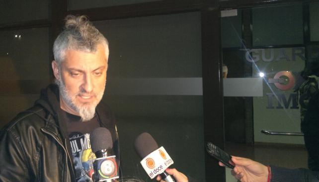 PALAZZO. El organizador del evento dijo que Charly se encuentra con su novia en una sala común de la clínica (La Voz / Facundo Luque).