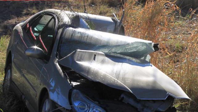 SINSACATE. El triple choque sobre ruta 9 Norte dejó un muerto el 22 de junio pasado (La Voz/Archivo).