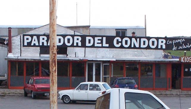 PARADOR EL CÓNDOR. Hizo 8,8 grados bajo cero de temperatura (La Voz/Archivo).