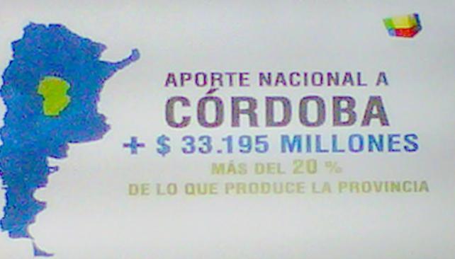 AVISO. El anuncio en Fútbol para Todos (Captura TV).