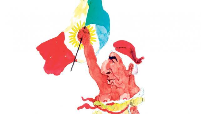 José Manuel de la Sota (Ilustración de Juan Delfini).