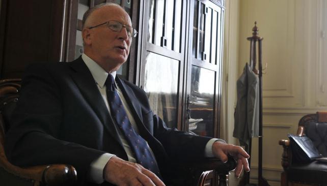 Julio De Olazábal. El fiscal General de Santa Fe adelantó que todos los procesos penales en esa provincia serán orales (La Voz / José Gabriel Hernández).