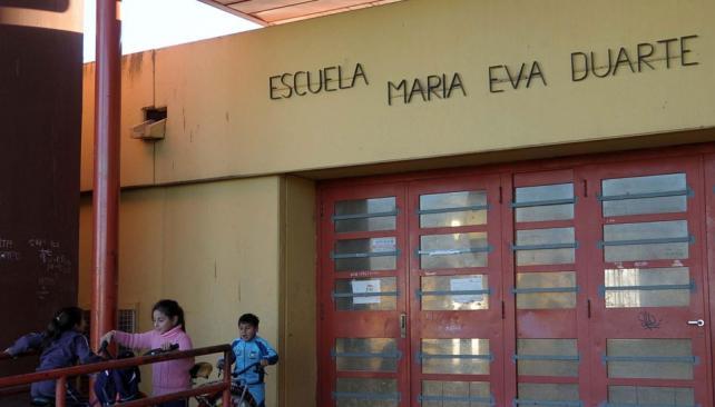 Río Cuarto. Como homenaje, una escuela de barrio Alberdi lleva el nombre de la líder justicialista (La Voz).