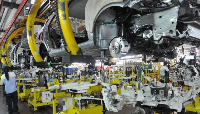 Tregua. La actividad en la planta industrial de Ferreyra recién recobraría su ritmo habitual el jueves 21 (La Voz).