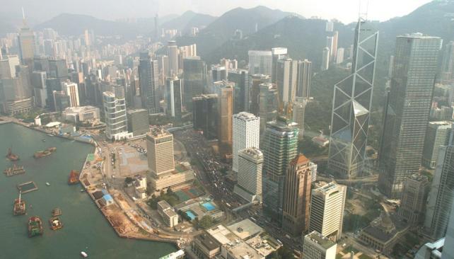 HONG KONG. Una postal de los edificios (AP/Archivo).