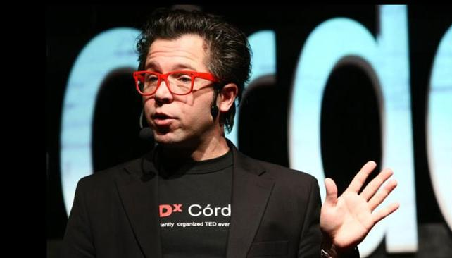 Jorge Monteagudo, presentador de TEDx Córdoba.