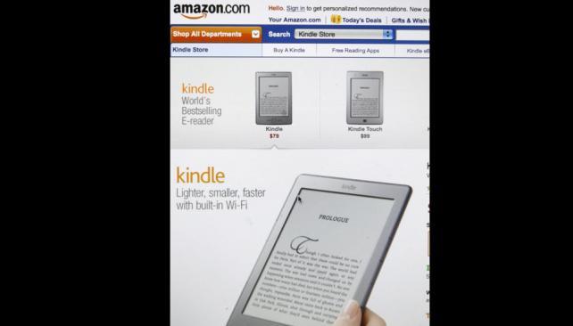 E-BOOK. Los libros electrónicos, en el centro de la disputa (Archivo AP).