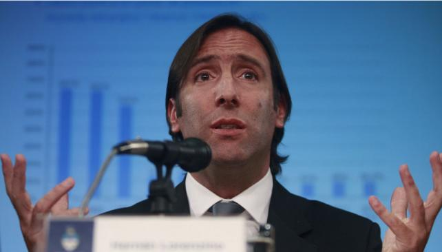 """LORENZINO. """"Argentina está trabajando fuertemente en el proceso del IPC con alcance nacional"""", dijo (DyN/Archivo)."""