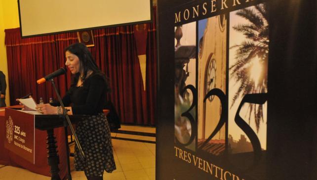 La obra habla del espíritu que atraviesa a todos los monserratenses (La Voz / Martin Baez).