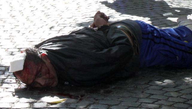 Resistencia. El policía retirado Juan Guillermo Moreno fue detenido luego de tirotearse con efectivos de la Policía Federal (DyN).