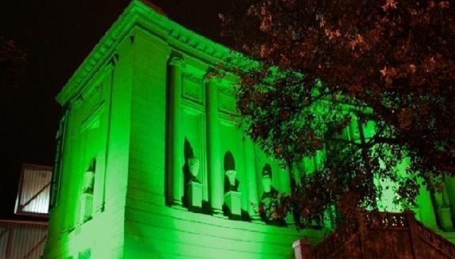 MUSEO CARAFFA.El Master Plan de Iluminación Digital prevé una escena lumínica diferente por noche en cada edificio cultural (Prensa Gobierno de Córdoba).