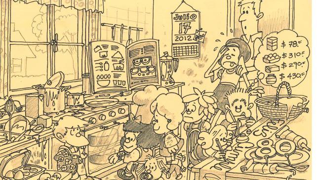 Homenaje de Tomás Gulle. Reside en Italia. Se desempeña como ilustrador y humorista gráfico.