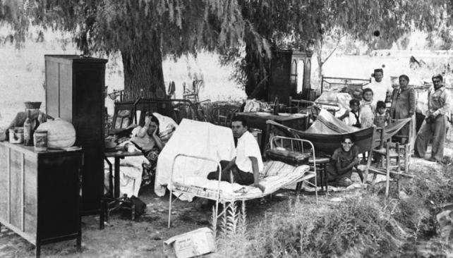 ESTRATEGIA. Tras la tragedia, el entonces general Perón planeó primero ayudar a las víctimas y después reconstruir la ciudad aniquilada.