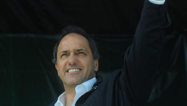 Daniel Scioli. Fue reelegido gobernador de Buenos Aires con más del 55 por ciento de los votos.