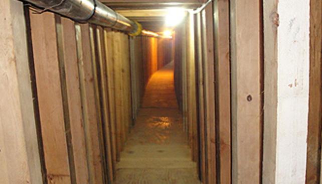 Sofisticación. Los túneles tenían iluminación y una extensión de más de 200 metros (AP).