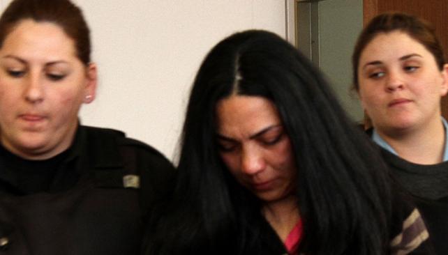 En juicio. María Soledad Oliva se abstuvo de declarar, por ahora (La Voz).