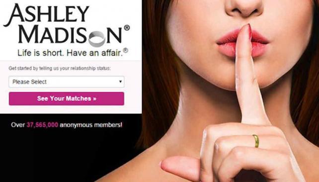 """Hackearon Ashley Madison: las """"trampas"""" amorosas de 37 millones de usuarios, al descubierto"""