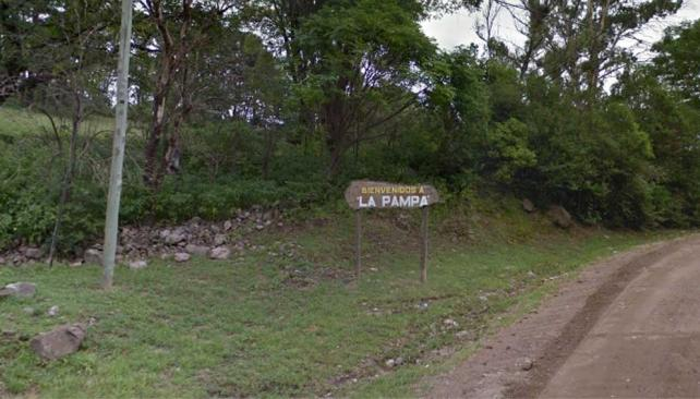 ZONA. La Pampa (Captura/©Google Street View).