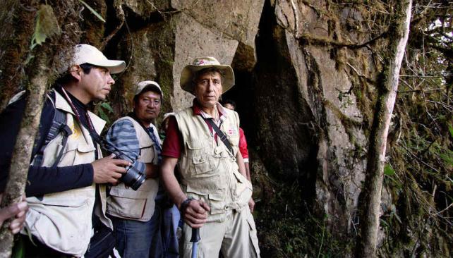 MACHU PICCHU. El nuevo tramo del camino inca que descubrieron los investigadores (Ministerio de Cultura de Perú).