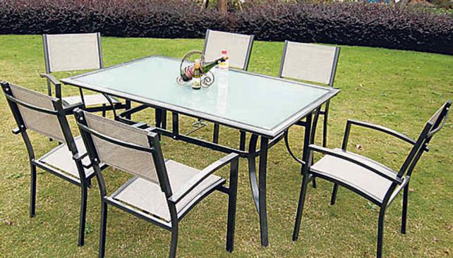 Equipo de muebles para exteriores la voz del interior - Muebles jardin cordoba ...