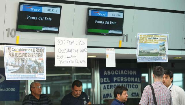 Empleos y pasajeros afectados en c rdoba por la ca da de for La voz del interior trabajo