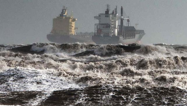"""CERDEÑA. La tormenta fue considerada """"apocalíptica"""" (AP)."""