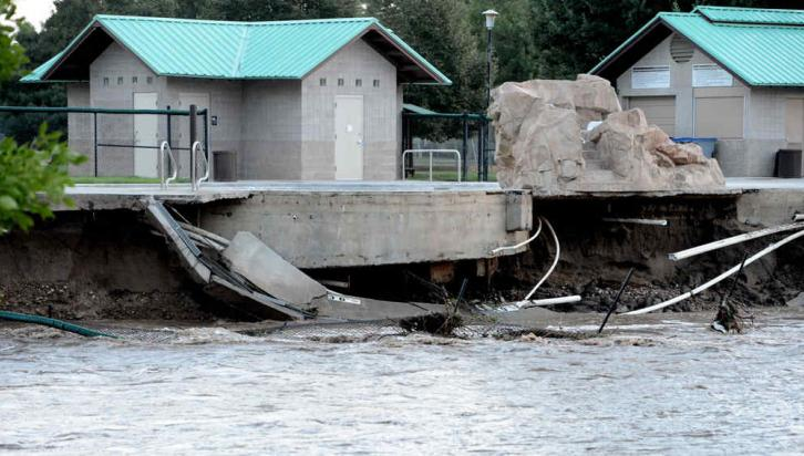 COLORADO. Desastre por una inundación (AP).