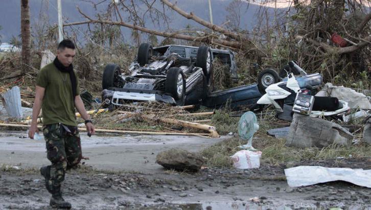 FILIPINAS. La ciudad de Tacloban fue una de las más afectadas por el tifón (AP)