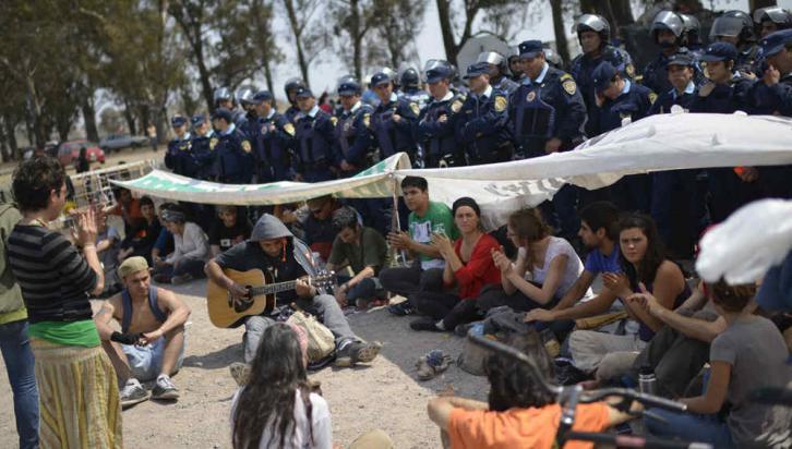 MONSANTO. La protesta de los vecinos (Pedro Castillo/LaVoz).