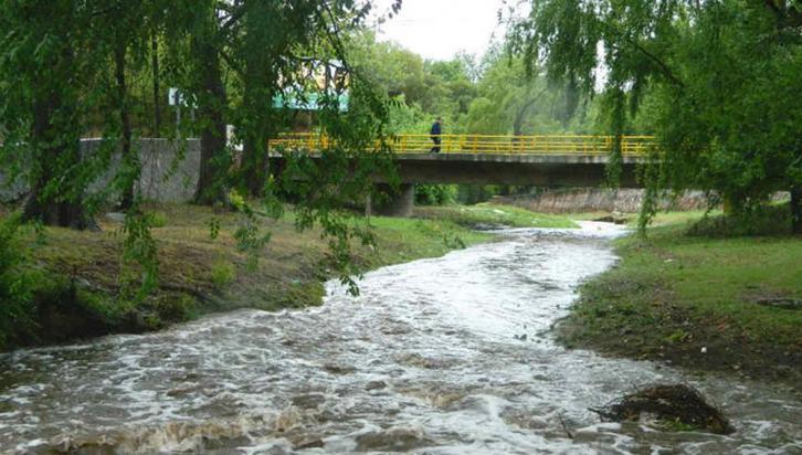SALSIPUEDES. Las lluvias trajeron alivio en la localidad de Sierras Shicas (LaVoz).