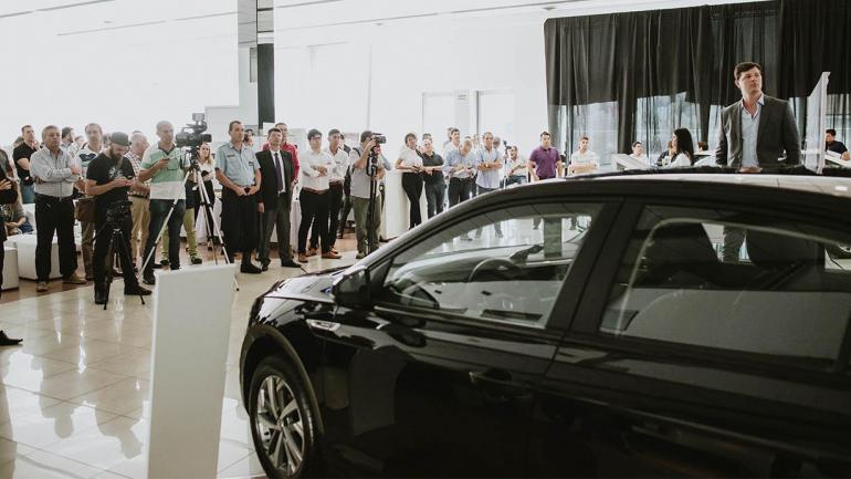 Fueron más de 150 los invitadas que participaron del importante lanzamiento del Volkswagen Virtus. (Mundo Maipú)