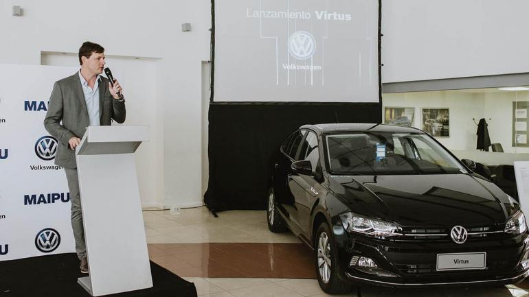 Gastón Eisenstein, Gerente Regional de Ventas de Volkswagen Argentina. (Mundo Maipú)