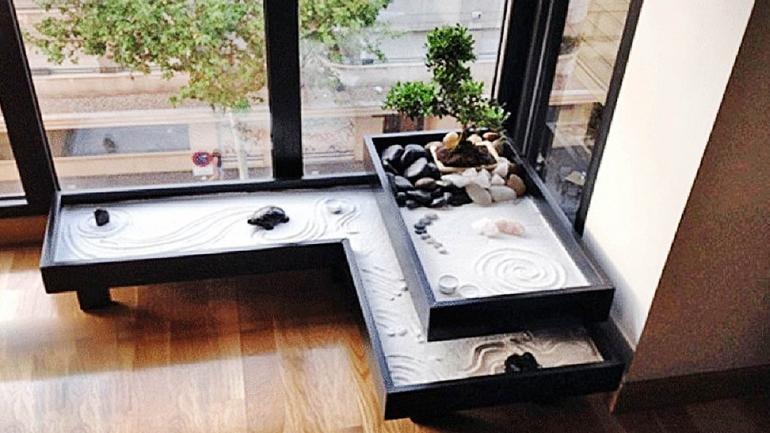 Los jardines zen se son ideales para decorar el interior de los departamentos. (Grupo Edisur)