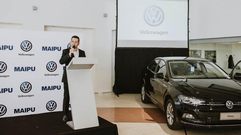 Andrés Carreras Gerente de Ventas de Maipú Volkswagen. (Mundo Maipú)