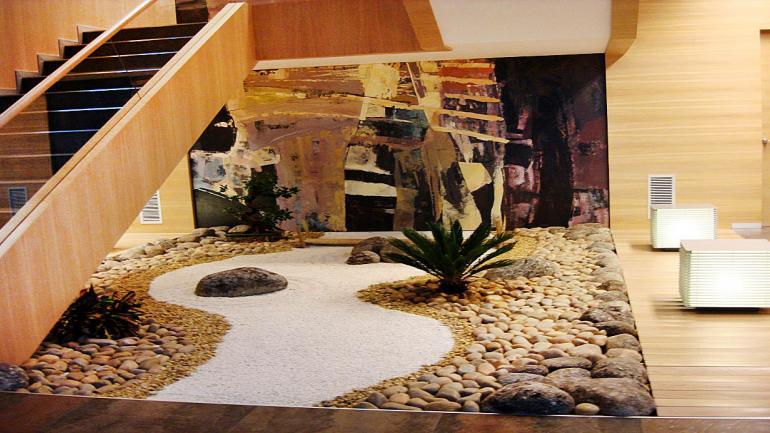 Los jardines zen son admirados como fuente de relajación. (Grupo Edisur)