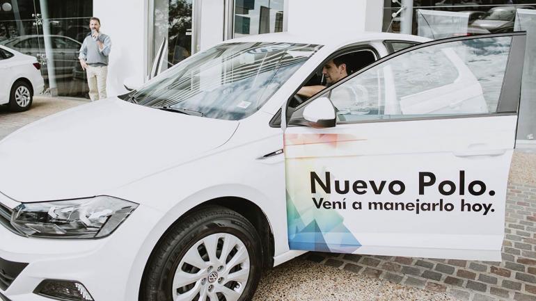 Maipú Volkswagen presentó el Nuevo Polo. (Mundo Maipú)