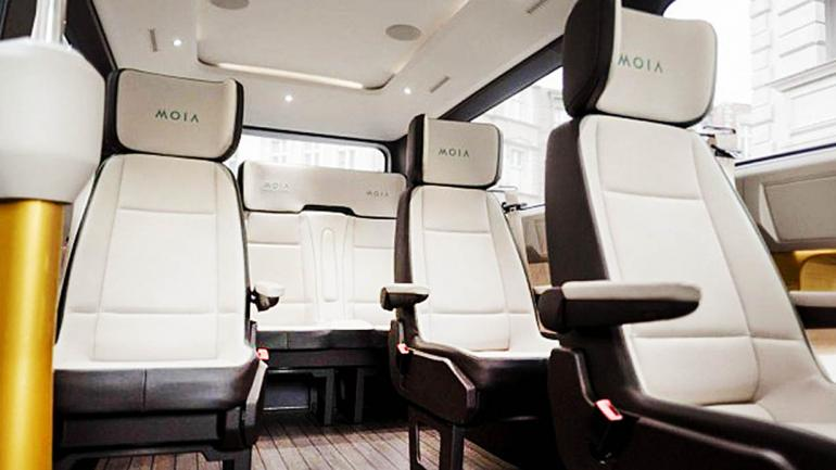 """El Moia concept es """"el primer vehículo eléctrico de su tipo con 6 asientos"""". (Mundo Maipú)"""