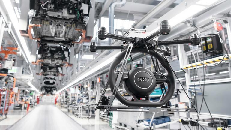 RENOVACIÓN. La principal función que tendrán los drones será de encargarse del transporte de ciertas piezas de automóviles de un lugar a otro de la planta. (Mundo Maipú)