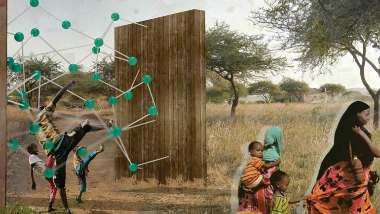 Fabricados con materiales de madera, cuerdas, pelotas de plásticos y tubos de vidrio, estos juegos sirven para comunidades que necesitan agua y energía. (Grupo Edisur)