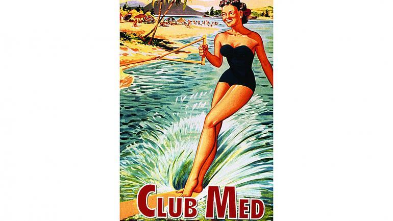 Publicidad gráfica de Club Med de 1954. (Club Med)