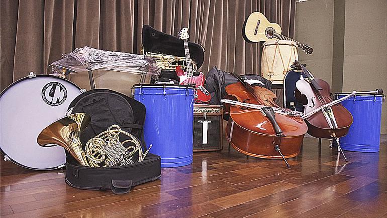 Cuerdas, percusión y vientos para alentar a las bandas infanto juveniles. (Agencia Córdoba Cultura)