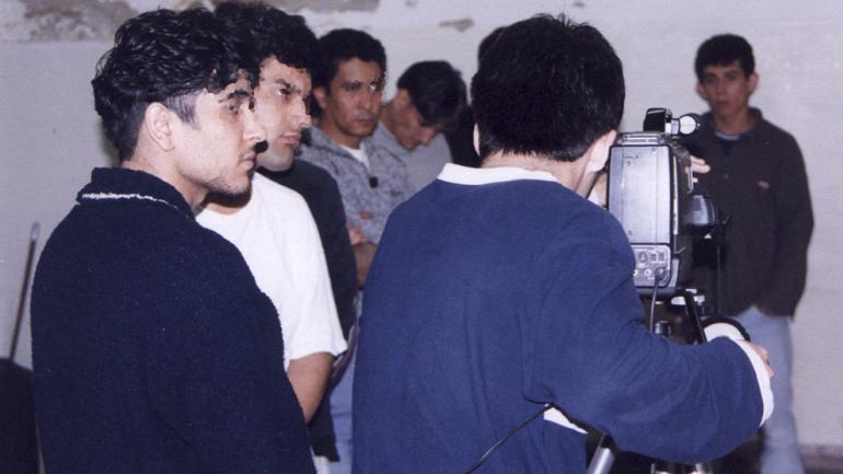 El cine móvil está acompañado de actividades taller / Foto de Agencia Córdoba Cultura.