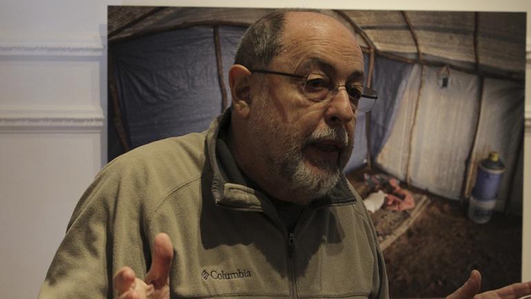 """""""En el trabajo de campo me encontré con una mirada amistosa, colaborativa, familiar"""", comenta Goldstein (Foto Agencia Córdoba Cultura)."""