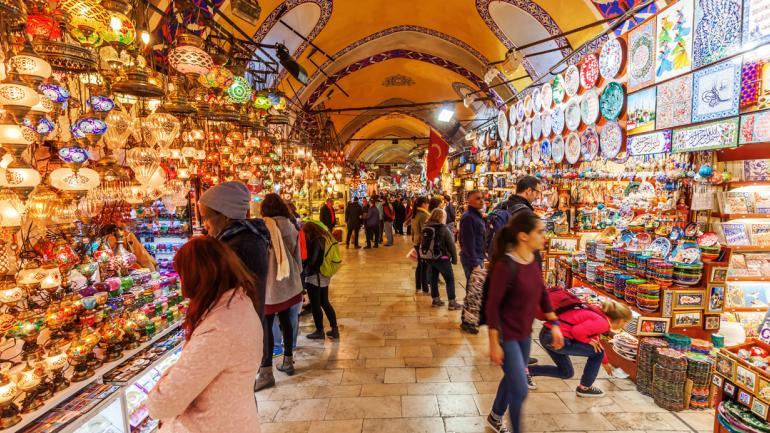 GRAN BAZAR (Estambul). Uno de los más reconocidos en el mundo entero. (Interturis)