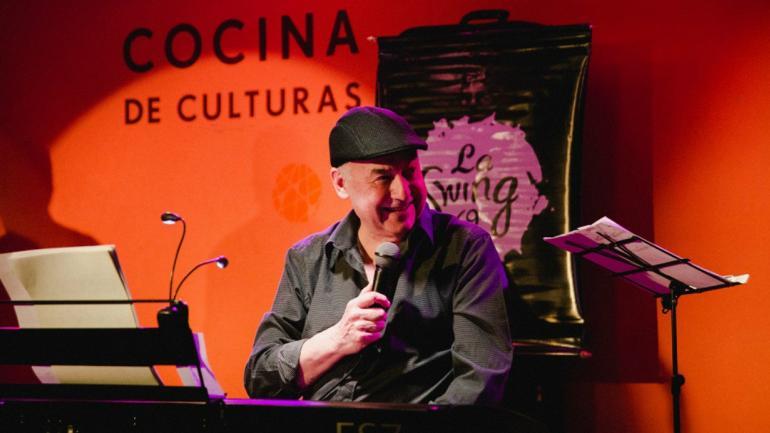 Jazz, Emilio Monge fundador de la Swing 69 / Foto de Agencia Córdoba Cultura
