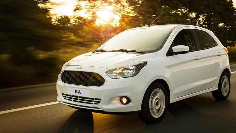 Ford Ka. (Mundo Maipú)