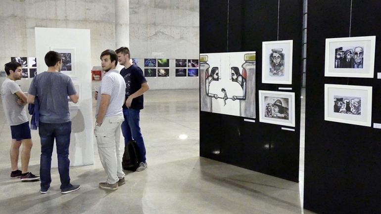 La muestra ocupa el gran salón de exposiciones / Foto de Agencia Córdoba Cultura.