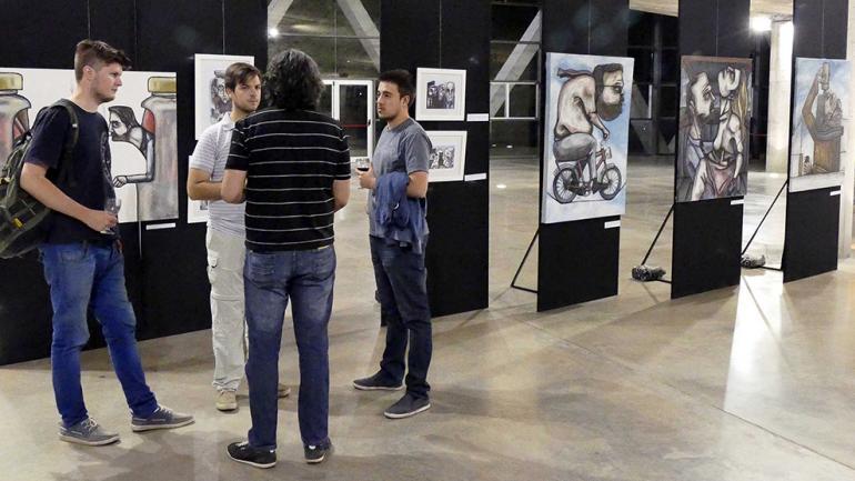 Literal de Matías Tejeda / Foto de Agencia Córdoba Cultura.