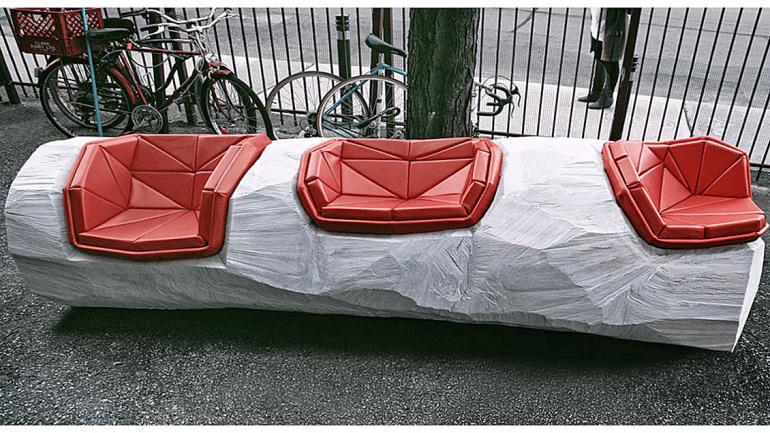 Log Chop Bench Flickr jules herbert. (Grupo Edisur)