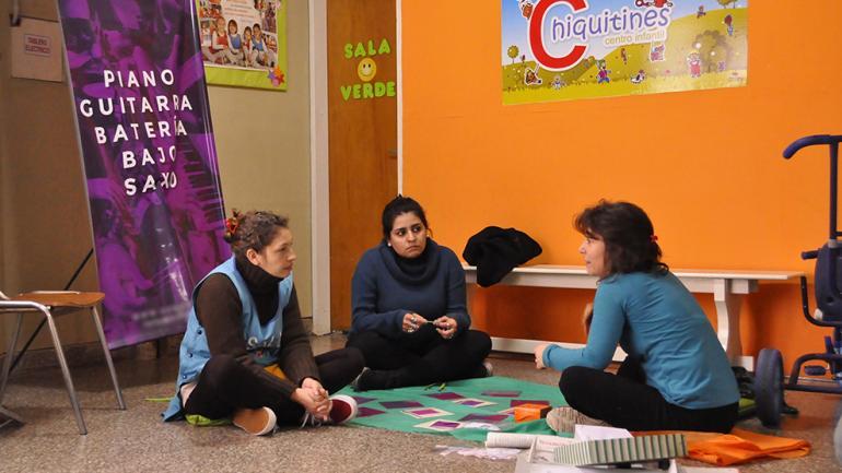 Los encuentros se realizan en la Red de Salas Cuna de la Provincia / Foto de Agencia Córdoba Cultura.